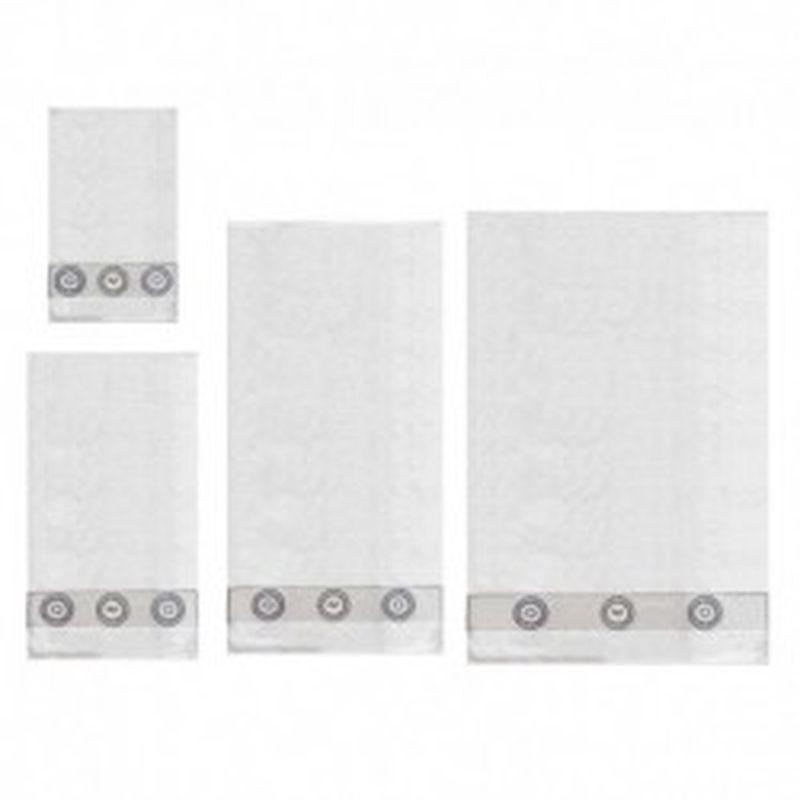 Set 4 toallas Versace 1969 Blanco