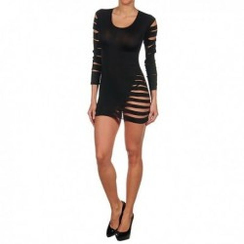Vestido Sandy Negro