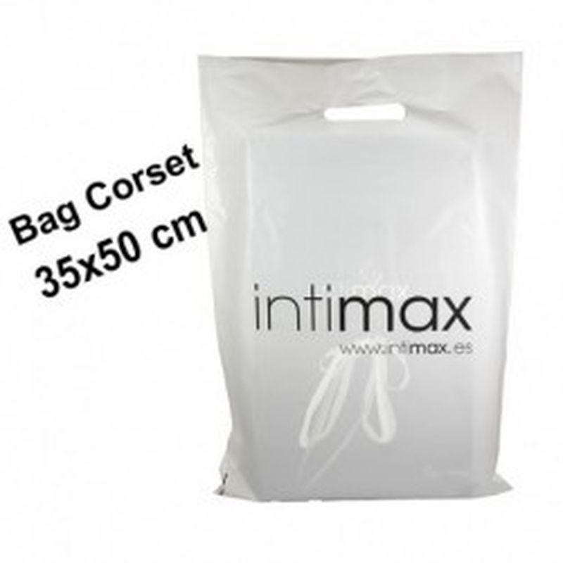 Bolsa intimax grande con asa troquelada