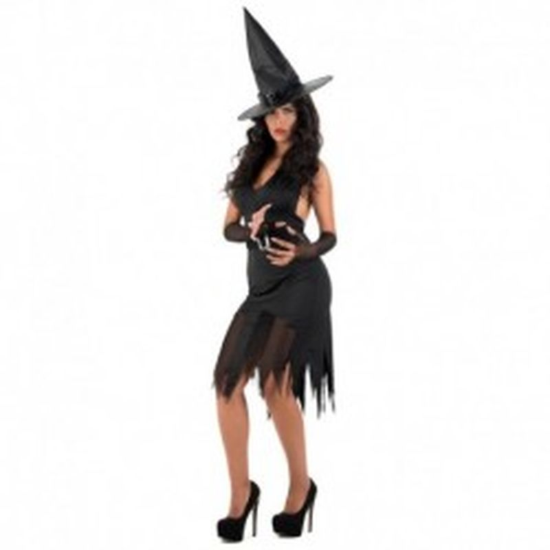Disfraz Witch Electra Negro
