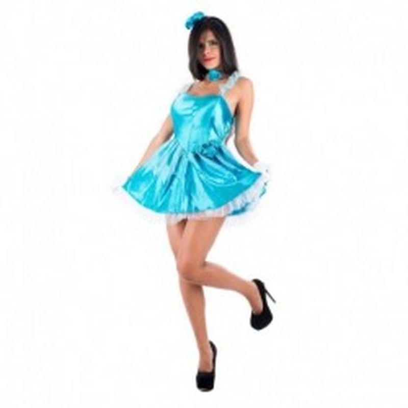 Disfraz Elsa Azul