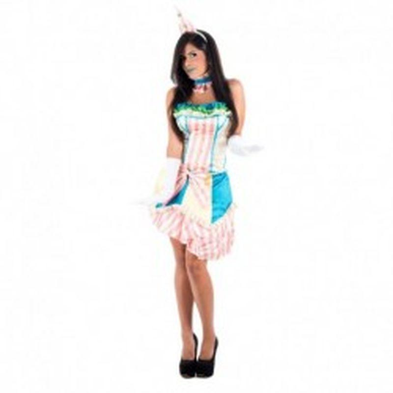 Disfraz Sombrerero Multicolor