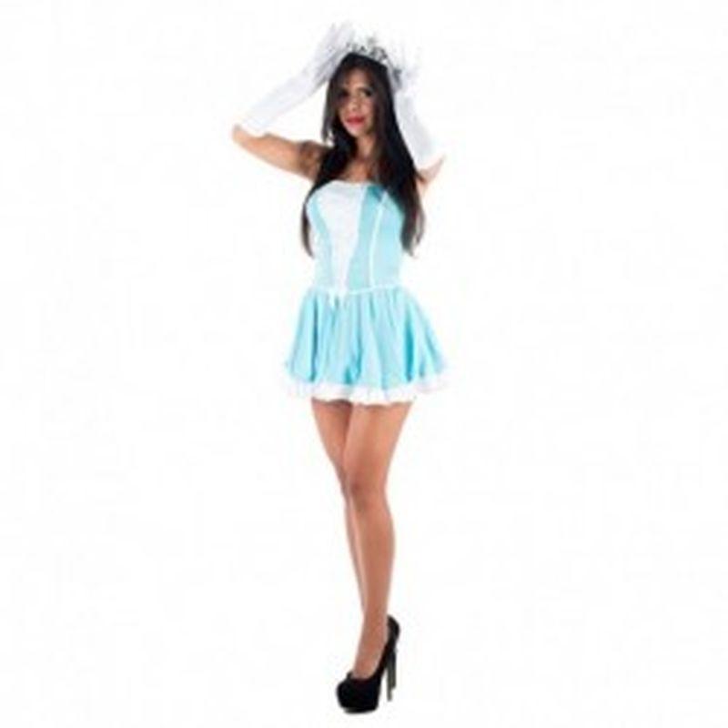 Disfraz Bella Azul