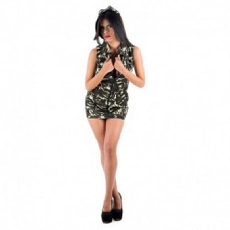 Disfraz Militar Verde