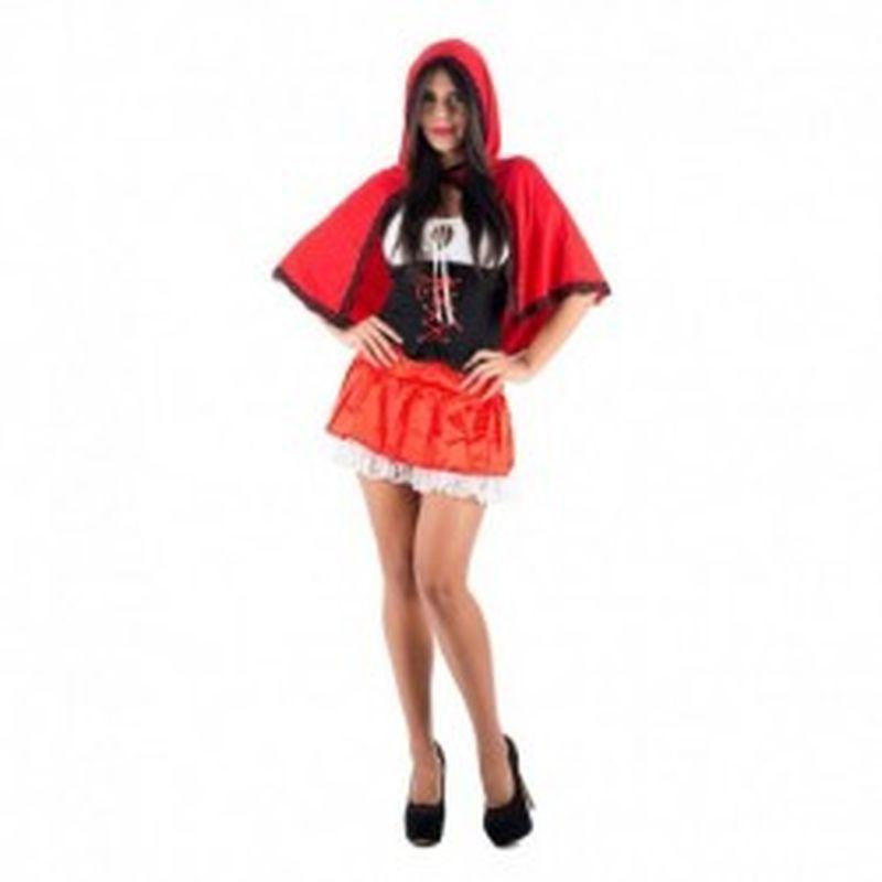 Disfraz Caperucita roja Rojo