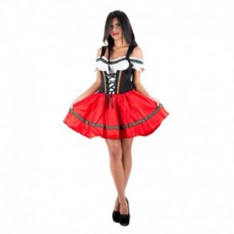 Disfraz Gretel Rojo