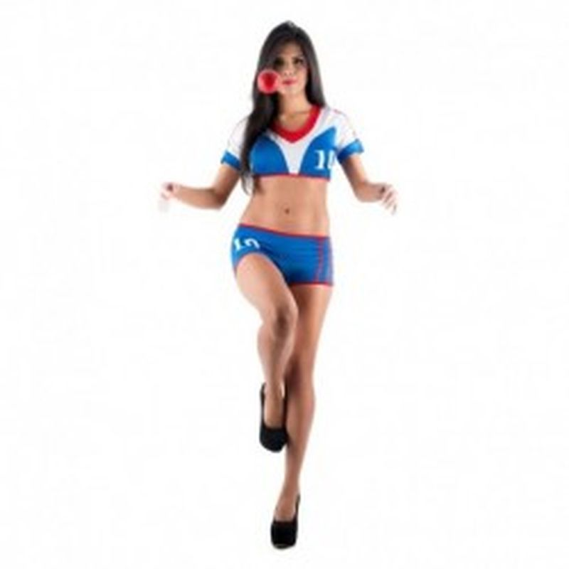 Disfraz Futbolista Azul