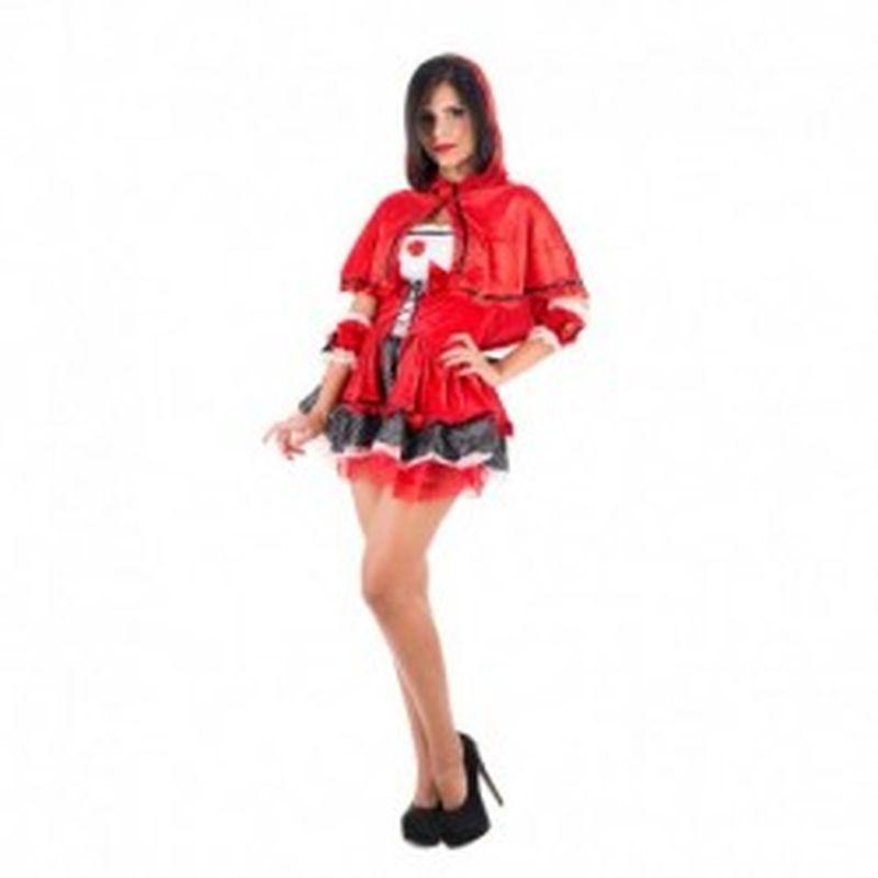 Disfraz Sexy caperucita roja Rojo