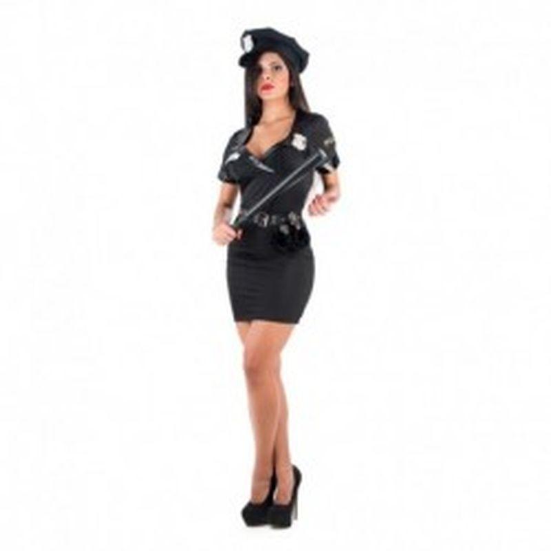 Disfraz Sexy policia Negro