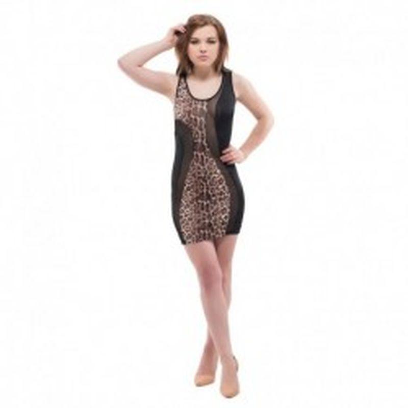 Vestido Barletta Leopardo