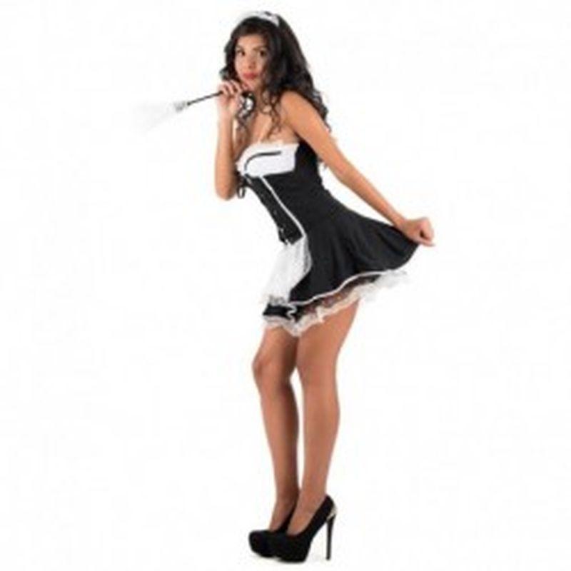 Disfraz Maiden Elodia Negro
