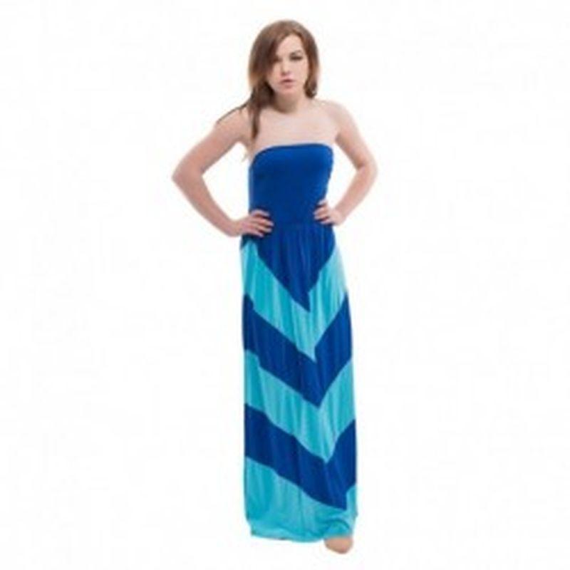 Vestido Corato Azul