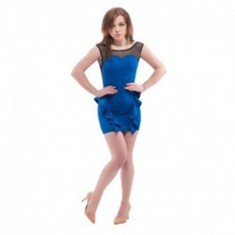 Vestido Broni Azul
