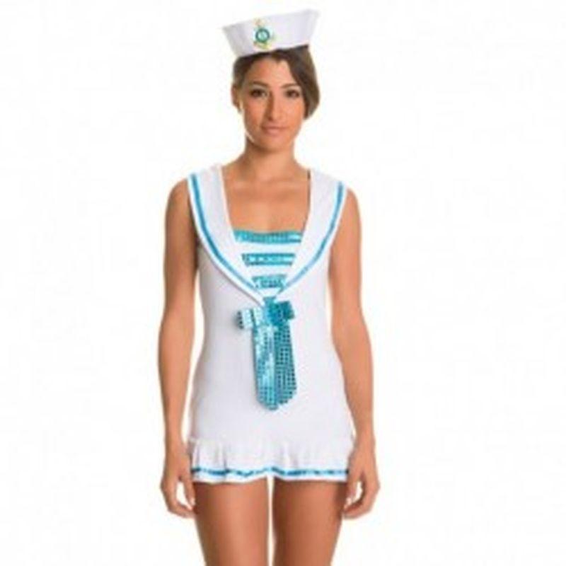 Disfraz Seawoman Blanco