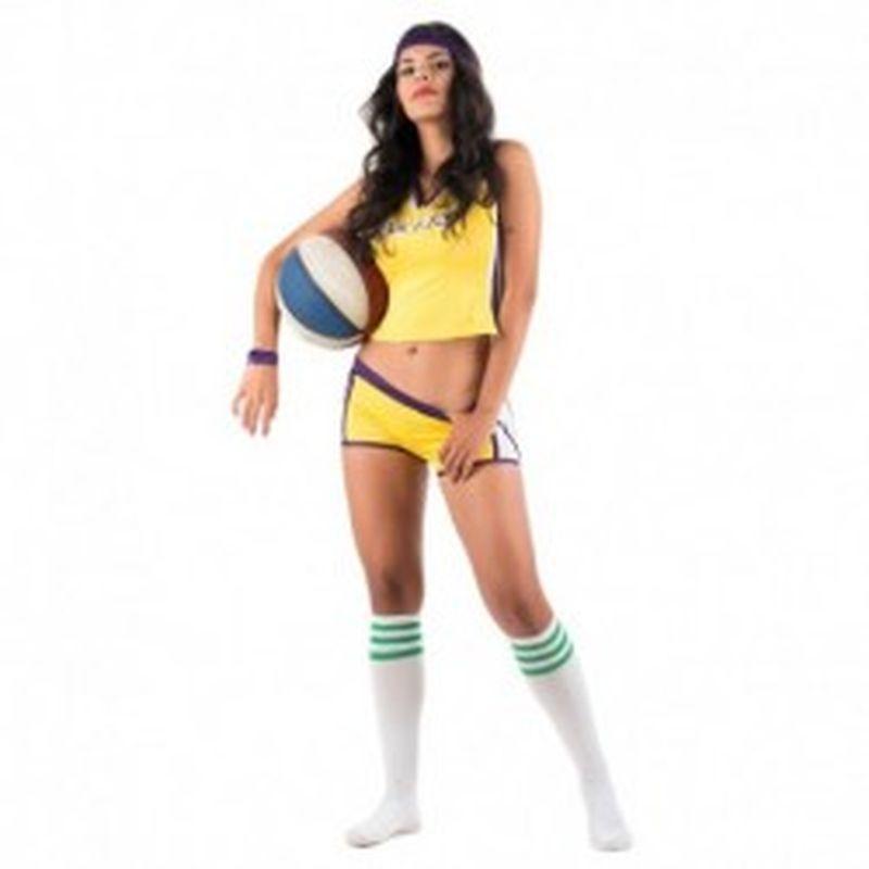 Disfraz Player Natacha Amarillo