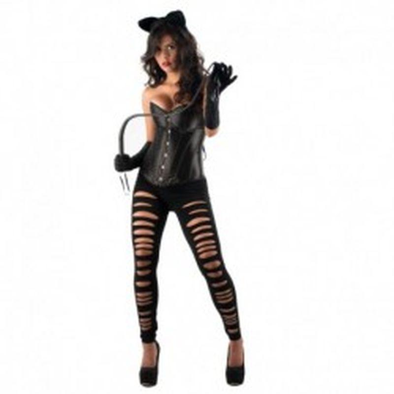 Disfraz Catwoman Yasmin Negro