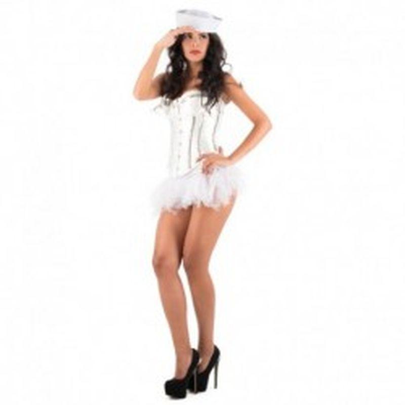 Disfraz Blouse Iris Blanco