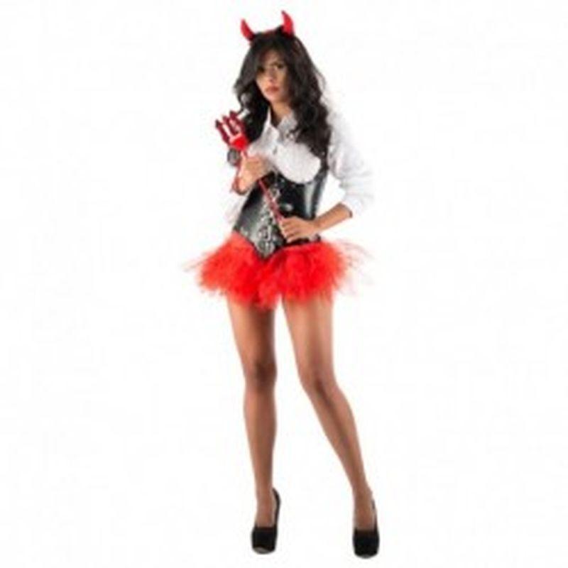 Disfraz Devil Hilda Negro