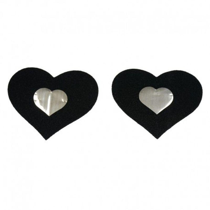 Pezoneras Special Heart Negro
