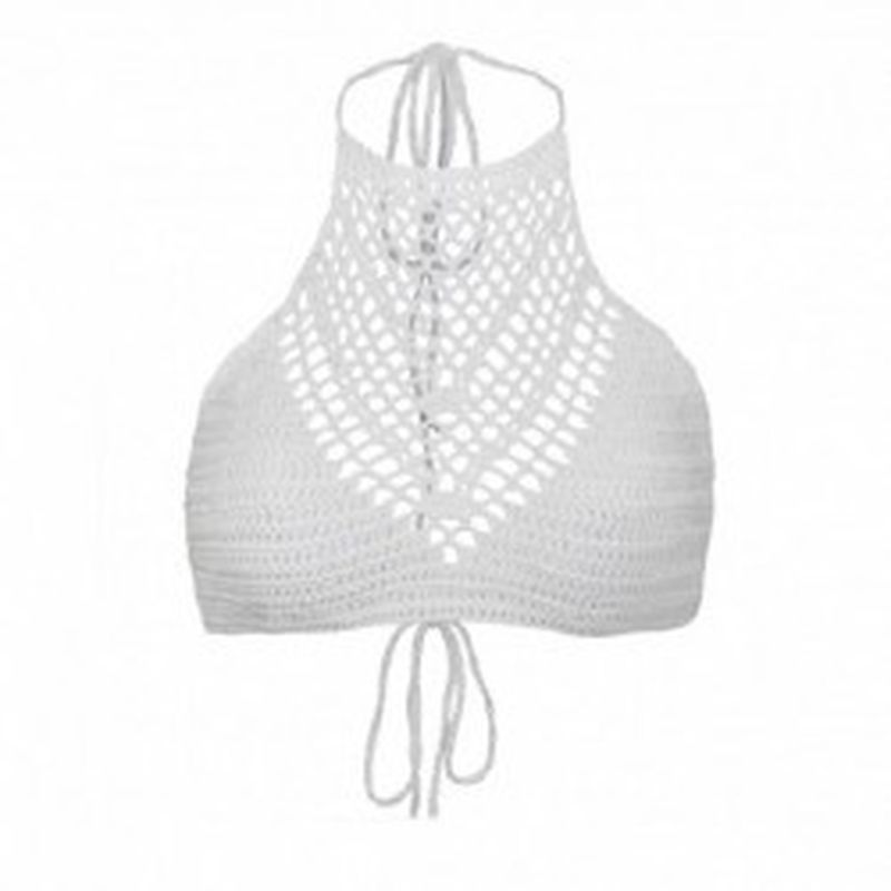 Bikini TopKnot Blanco