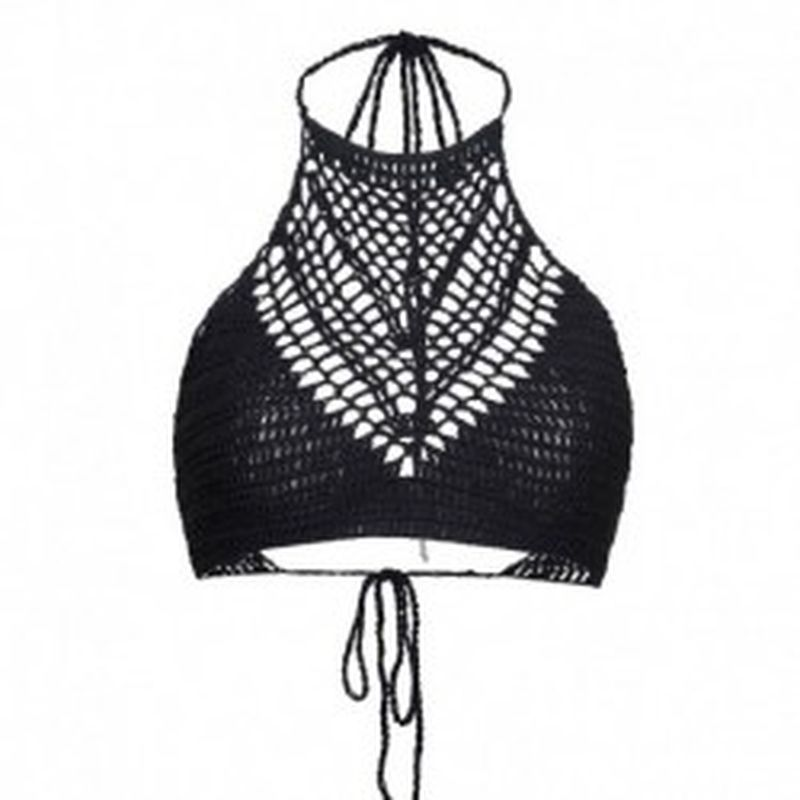 Bikini TopKnot Negro