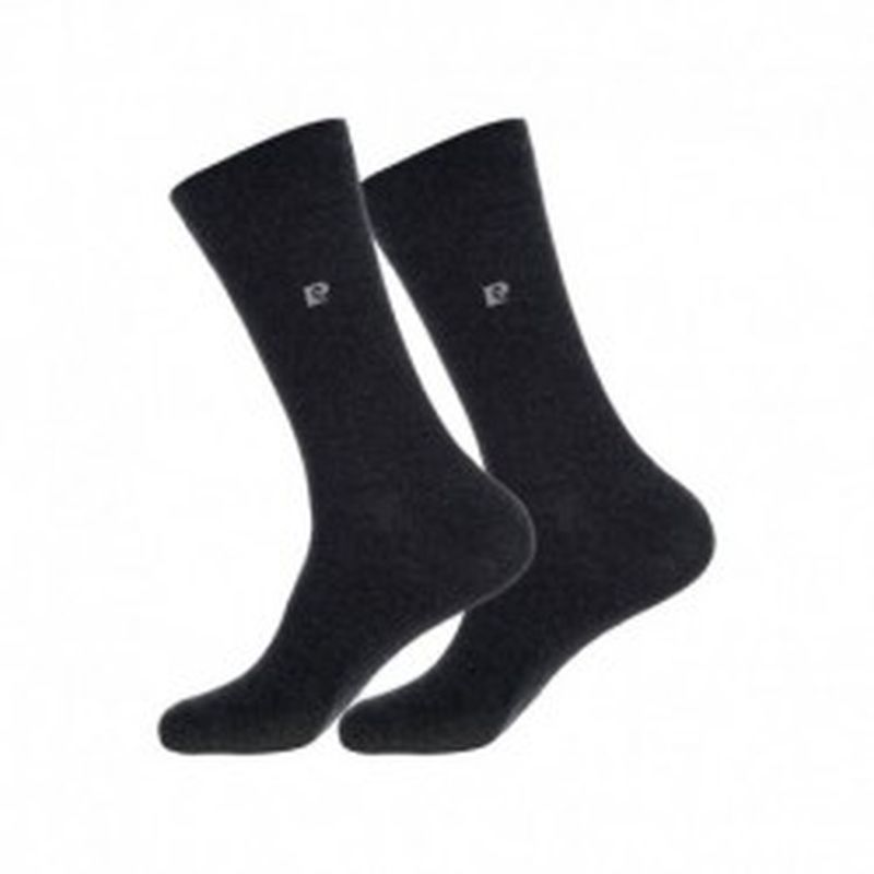 Set 10P calcetines PIERRE CARDIN - color: gris antracita - talla 39/42