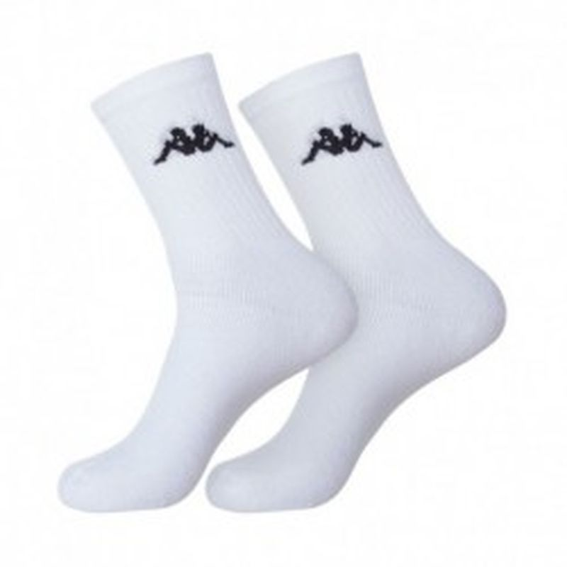 "Set 12P calcetines ""tenis"" KAPPA blancos - talla 39/42"