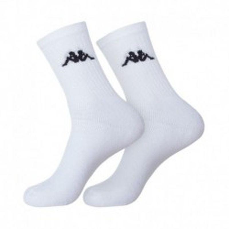 "Set 12P calcetines ""tenis"" KAPPA blancos - talla 43/46"