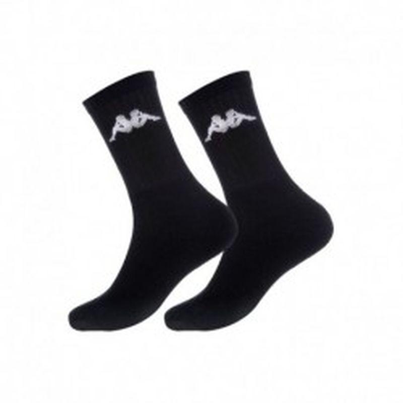 "Set 12P calcetines ""tenis"" KAPPA negros - talla 39/42"