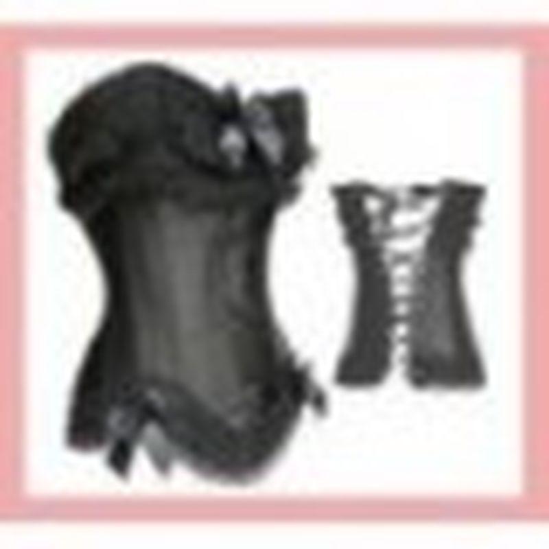 Corset Brokat Negro