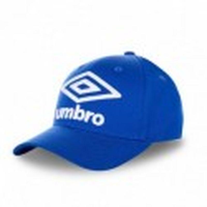 Gorra béisbol, azul, 100% algodón, talla única