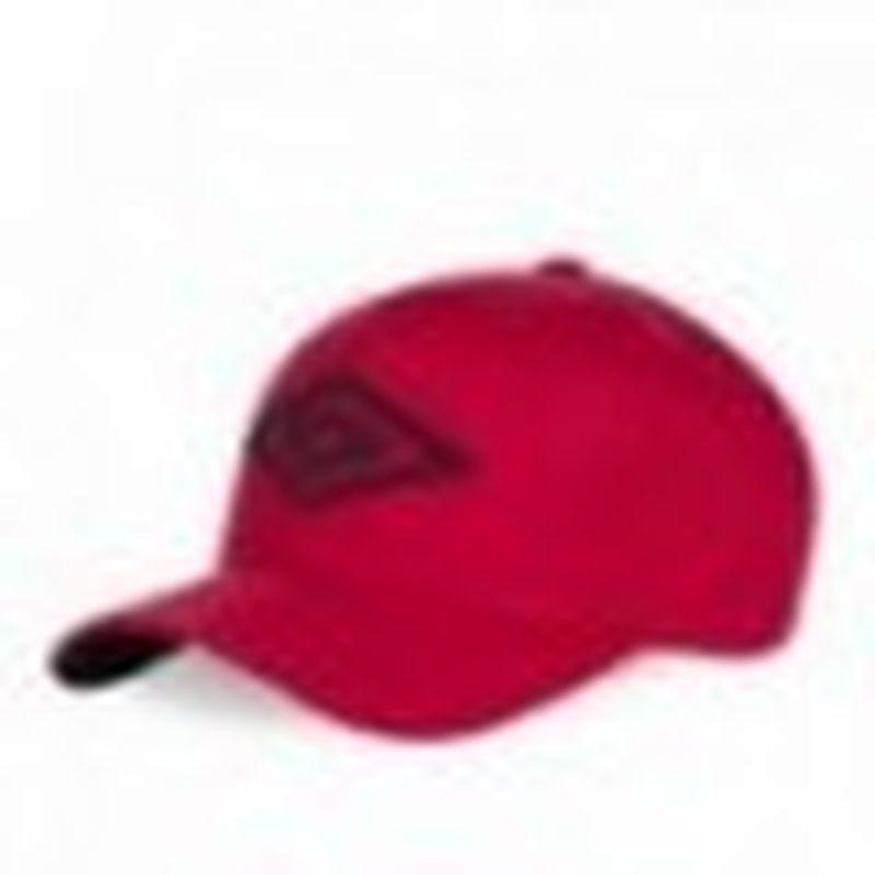 Gorra béisbol, rojo, 100% algodón, talla única
