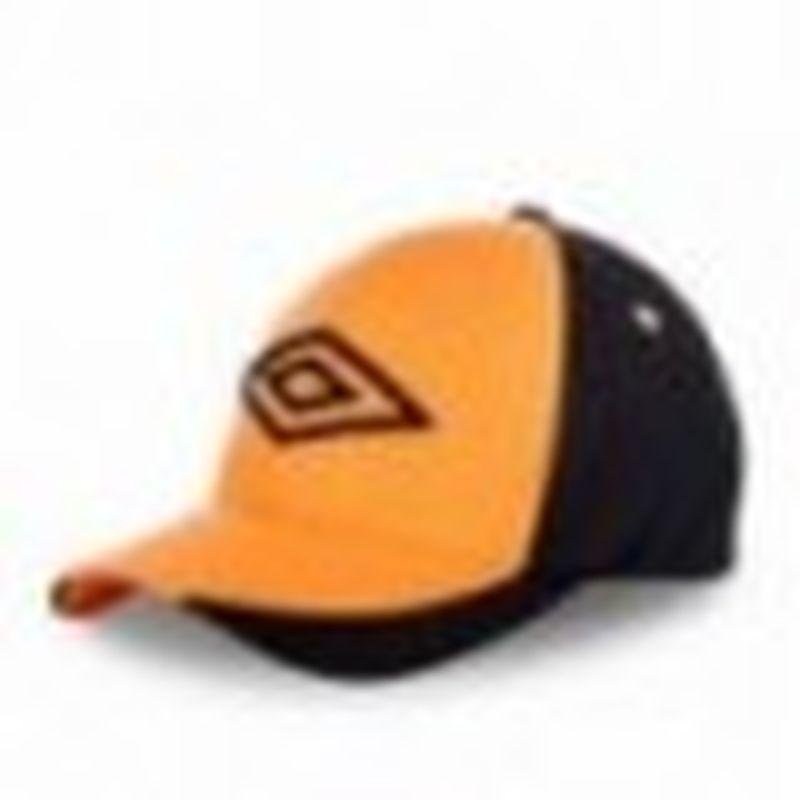 Gorra béisbol, naranja, 100% poliéster, talla única