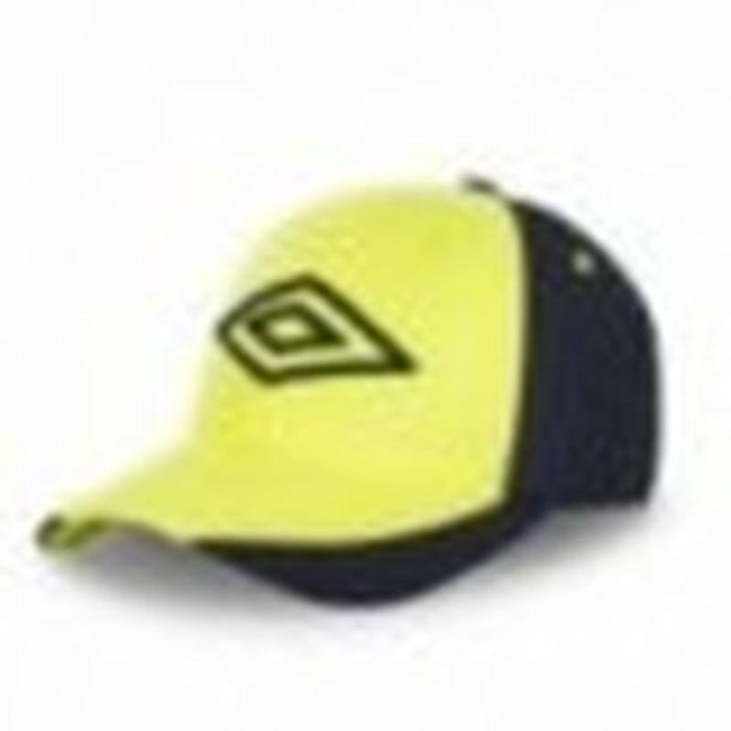 Gorra béisbol, amarillo, 100% poliéster, talla única