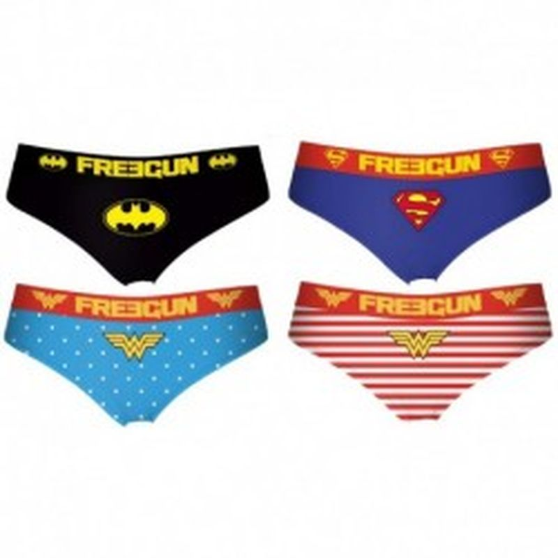 Pack 6pcs Surtido COMIC FREEGUN - Talla XXL