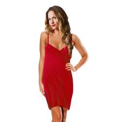 Vestido / pareo Towel Rojo