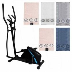 Maquina elíptica y juego de cinco toallas (surtido)