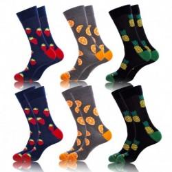 43/46 Set 6pcs calcetines de vestir Crazy Socks