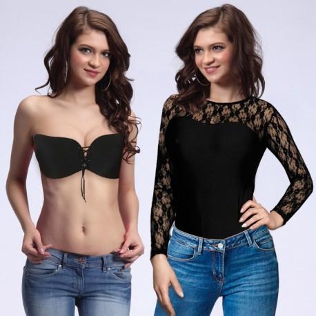 Set body + invisible bra