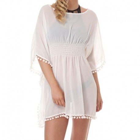 Vestido Palmarola Blanco