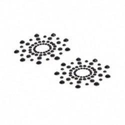 Pezoneras acrílicas Diamante Negro