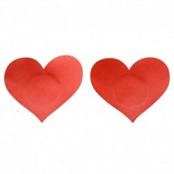 Pezoneras Bright Heart Rojo