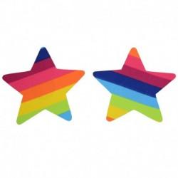 Pezoneras Rainbow Star Multicolor