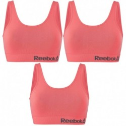 Talla XS: Pack de 3 Top deportivo para mujer Rosa - 74% poliamida 26% elastano