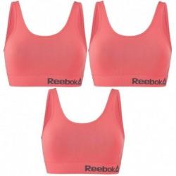 Talla L: Pack de 3 Top deportivo para mujer Rosa - 74% poliamida 26% elastano