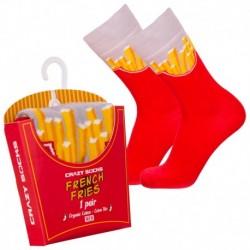 Talla: 35/38 Calcetines de vestir en caja - ideal para regalo - Algodón BIO - Crazy Socks - divertidos y originales