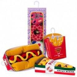 Talla: 35/38 Fast menú - 8 pares de calcetines de vestir en caja - ideal para regalo - Algodón BIO