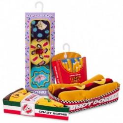 Talla: 39/42 Fast menú - 8 pares de calcetines de vestir en caja - ideal para regalo - Algodón BIO
