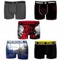 Talla XL: Pack de 5 boxers FREEGUN aleatorio