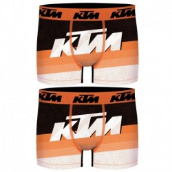 Talla L: Set 2 Boxer KTM - microfibra (92% poliéster - 8% elastano) - multicolor